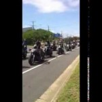 Freedom Ride 2014 Australia Day